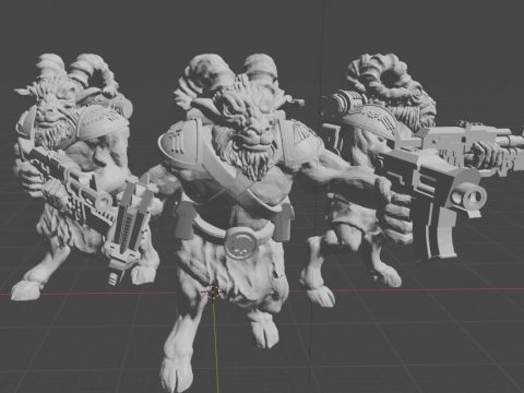 Imperial space army Beast-People