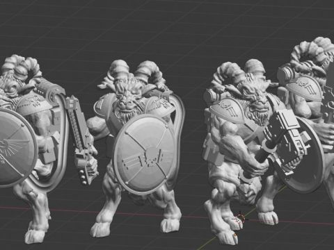Imperial space army beast-people 3