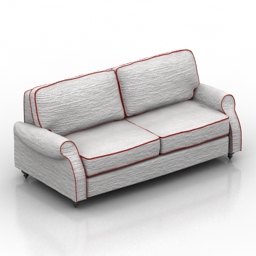 Sofa Hollywood Estetic 3d model
