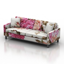 Sofa ethan allen melrose 3d model