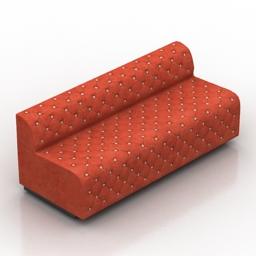 Sofa karmen DLS 3d model