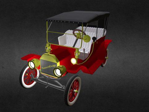 Vintage Car Model
