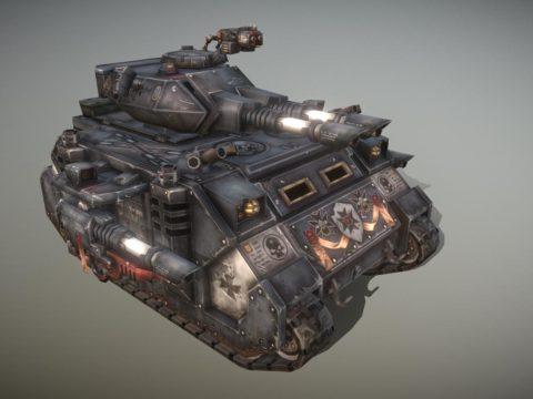 Warhammer 40k Predator dark millennium