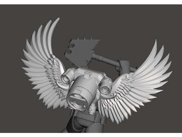 Winged Jump Pack