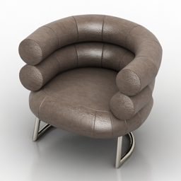 Armchair Bingo DLS 3d model