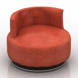 Armchair Saba QUINTASTRADA 3d model