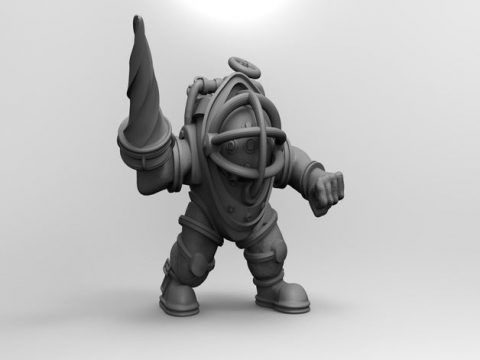 Bioshock Bigdaddy bouncer