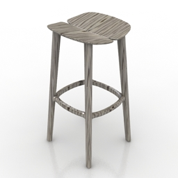 Chair bar HMI Osso 3d model