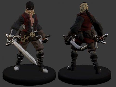 Dread Pirate Bob Miniature