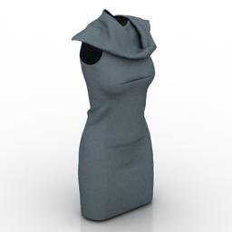 Dress dummy 3d model