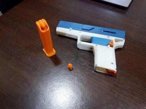 FULLY Fucntional 3D Printable Toy/Prop Gun