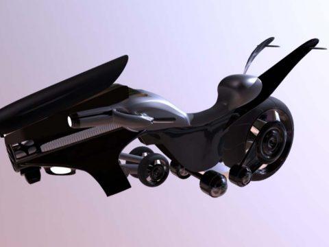 Flyingmotorcycle