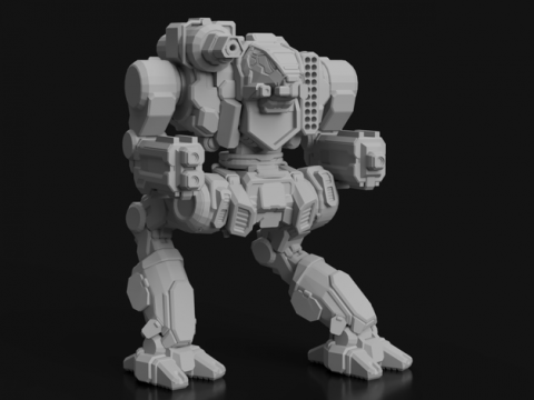 HA1-OC Hauptmann for Battletech