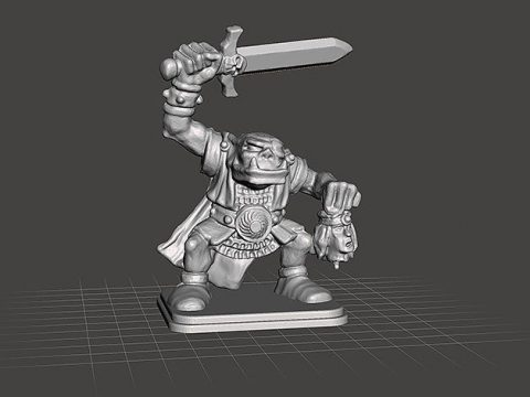 HeroQuest - Orc ULAG