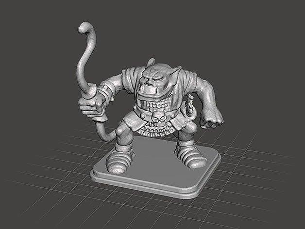 HeroQuest - Orc archer