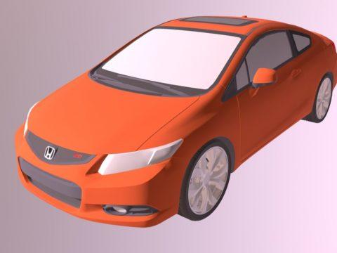 Honda 3D car model