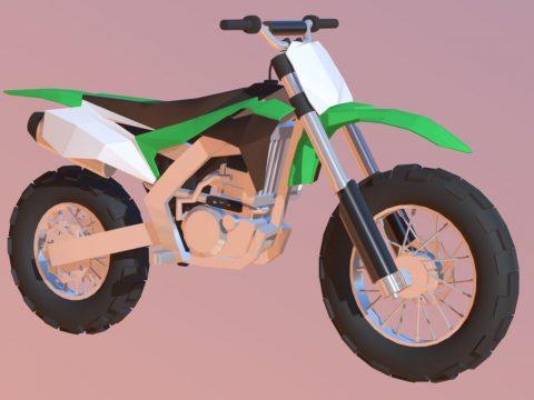 Kawasaki Low-poly
