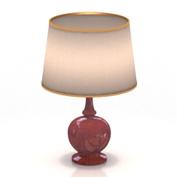 Lamp Downton Pale Celadon AMD 3d model