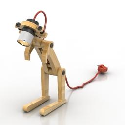Lamp Kangoo by Jean-Michel Lolia 3d model