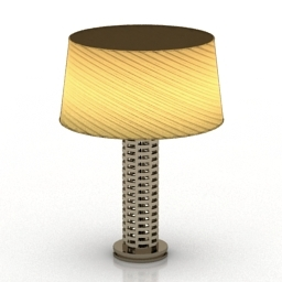 Lamp Waverly Woven Link 3d model