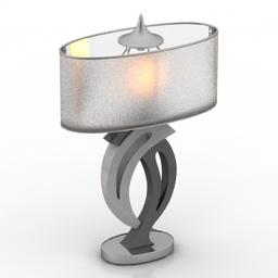 Lamp desk 3d model