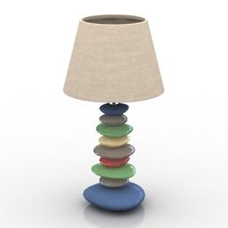 Lamp metro 3d model