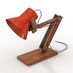 Lamp mossdesign pixoss series 3d model