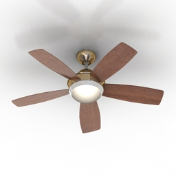 Luster Fan Fanimation Celano 3d model