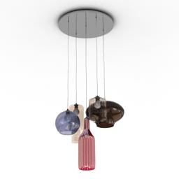 Luster KARE design shape colores 5 3d model
