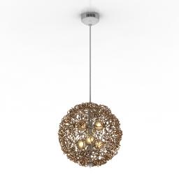 Luster YO-YO lamp 3d model