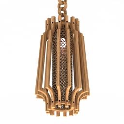 Luster wood 3d model