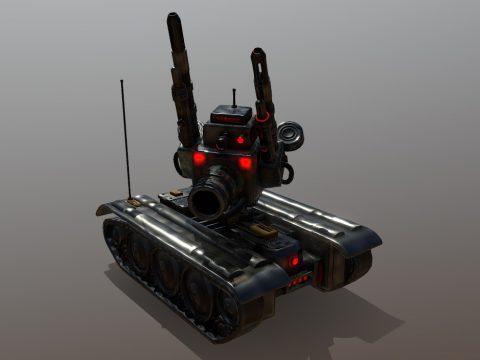 Military Suppression Drone: RSD-1 Droid
