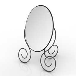 Mirror IKEA MUKEN 3d model