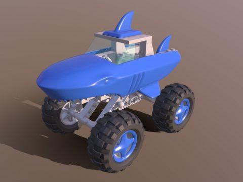 Monster Truck Shark