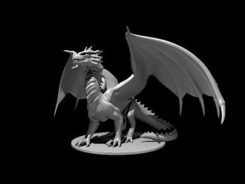 Red Dragon - Stoic Pose