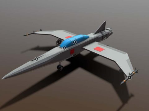 S-90 Fighter Jet