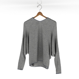 Shirt Hanging Dolman 3d model