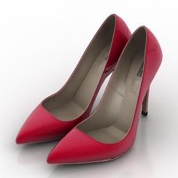 Shoes IREN VARTIK 3d model