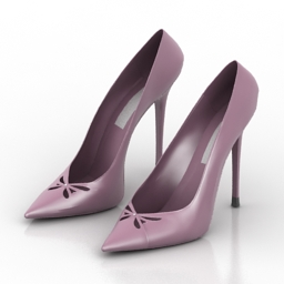 Shoes women 3d model