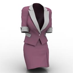 Suit 3d model