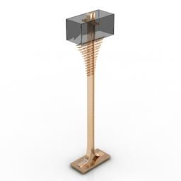 Torchere SMANIA ida LMIDA03 3d model