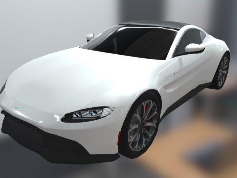 2018 Aston-Martin V12 Vantage