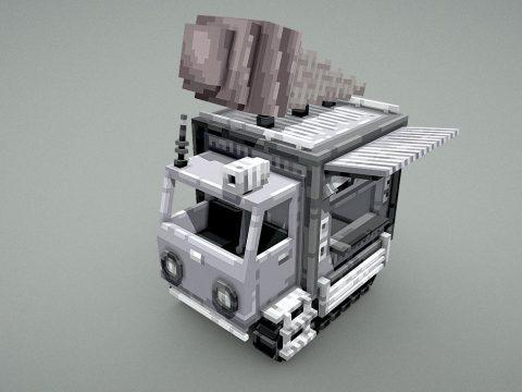 All-terrain ice cream truck