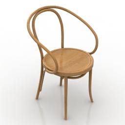 Chair Le Corbusier 3d model