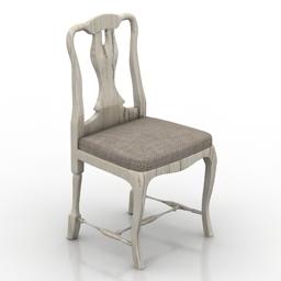 Chair Shabby 3d model