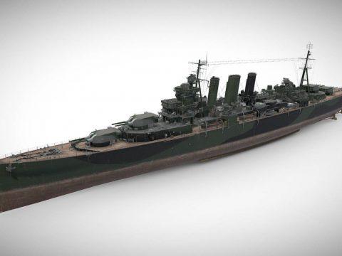 Devonshire - Tier VI British Heavy Cruiser