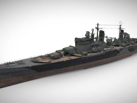 Drake - Tier IX British Heavy Cruiser