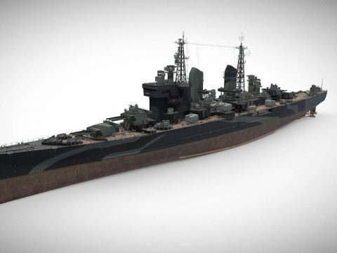 Goliath - Tier X British Heavy Cruiser
