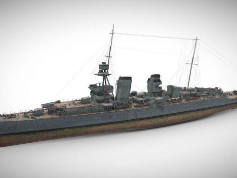 Hawkins - Tier V British Heavy Cruiser
