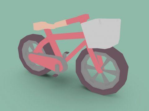 Low-Poly bike